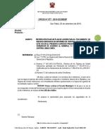 oficio n° 077- 2019