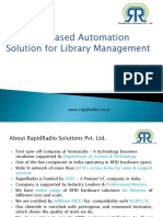 RR Based Library Automation Presentation
