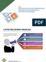 Kelompok B_Kasus Faktor yang Mempengaruhi Ketepatan Waktu Pelaporan Keuangan.pptx