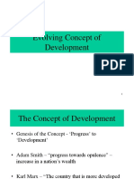 Development Evolution of the Concept (4)