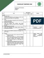 Checklist Inspeksi HSE-perbaikan OHC