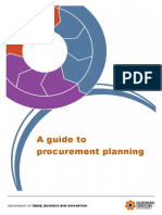 Guide Procurement Planning