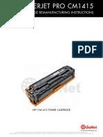HP CM1415 CP1525 Reman Eng