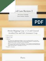 Civil Law Review 2 - CC - Aboitiz Shipping v. CA