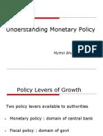 Understanding Monetary Policy