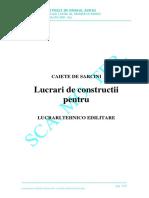 CAIETE DE SARCINI