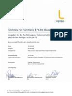 TRL EPLAN 05-2019 Vorgaben Zur Ausführung Von EPLAN-Dokumentation V1.2