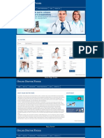 PHP and MySQL Project on Online Doctor Finder Screens