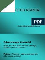 13.EPIDEMIOLOGÍA GERENCIAL