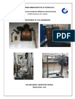 Soil lab manual