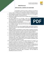 Practica 3 - Esfuerzo, Deformación y Módulos de Elasticidad