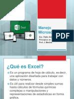 Manejo de Excel Basico