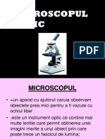 Microscopul optic