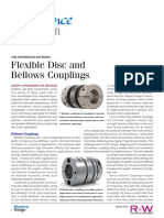 FLEXIBLE DISC VS BELLOW COUPLING