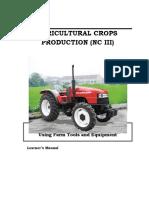 cblm on using farm tools and equipment