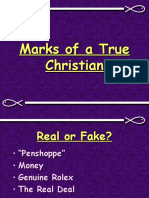 Marks of a True Christian Part 1