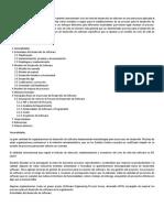 Proceso para el desarrollo del software