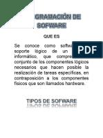 Qué es programación de software