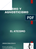 Ateismo y Agnosticismo