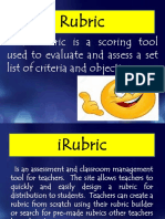 Rubric Making Guide
