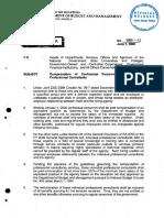 DBM Circular Letter No. 2000 - 11