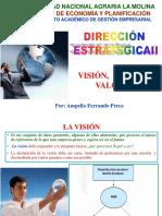 B. Visión, Misión y Valores