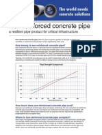 Reinforce concrete  pipe