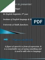 Figures of Speech Presentation