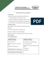 4 Types of Sentences Lesson Plan