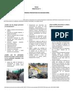 Ficha Practica N6 Atrapamientos en Excavaciones