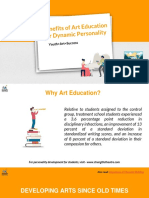 Benefits of Art Education for Dynamic Personalities