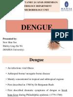 Dengue Fever Presentation