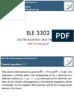 ELE 3302 Tutorial 01