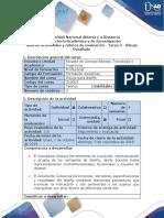 Guía de Actividades y Rúbrica de Evaluación - Tarea 2 - Dibujo Detallado