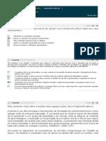 Avaliação Parcial -1 - Prática de Ensino e Estágio Sup. Português I - Daniel C Corbetta - Estácio EAD