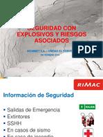 Seguridad Con Explosivos y Riesgos Asociados