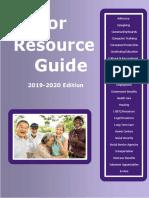 Senator Krueger's Senior Resource Guide, 2019-2020
