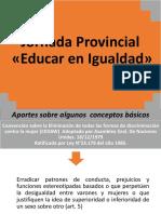 Jornada Provincial Educar en Igualdad 2019