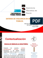Clase Vigilancia Salud Publica