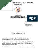 gesture cpntrol pc