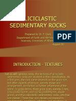 Siliciclastic Sedimentary Rocks