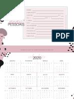 Planner 2020 - Apenas Detalhes