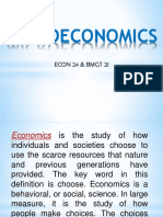 Microeconomics Ppt. Chapter 1