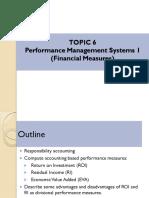 Topic 6 (PMS 1)