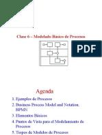 Clase 6. Modelado de Procesos Basico