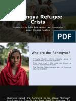 Rohingya Refugee Crisis Akmal a Harahap