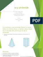 Prisma y pirámide