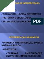 Metodos de Interpretacao da Norma - Hermeutica.pptx