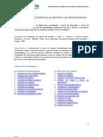Metodologías del Ámbito de la Historia y las Ciencias Sociales