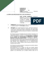 Clinica Chenet-contencioso Administrativo (Licencia)